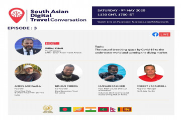 South Asian Digital Travel Conversation On the Diving Market Will Be Live Today