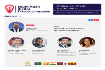 South Asian Digital Travel Conversation On the Impact of Covid-19 On Aviation and The Future of Air Travel Will Be Live Today