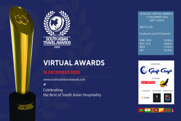 FIRST VIRTUAL AWARD CEREMONY OF SOUTH ASIAN TRAVEL AWARDS (SATA)